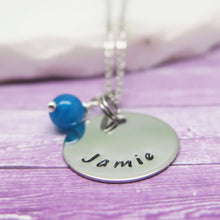 Personalised Disc Necklace