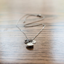 theta_jewellery_Dog Ashes Necklace Cremation Urn Pendant