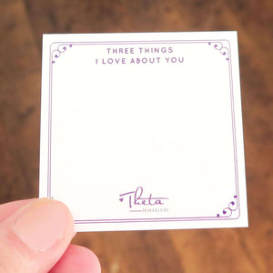 Three Things I Love About You #ShareYourThree Gift Card