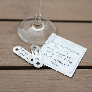 Dog Walker Show Tags with #ShareYourThree card