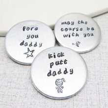Golf Ball Markers for Dad