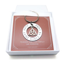 Friendship Keyring in Gift Box