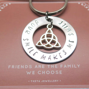 Meaningful Friendship Keyring