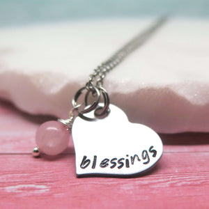Personalised Heart Necklace for Girls