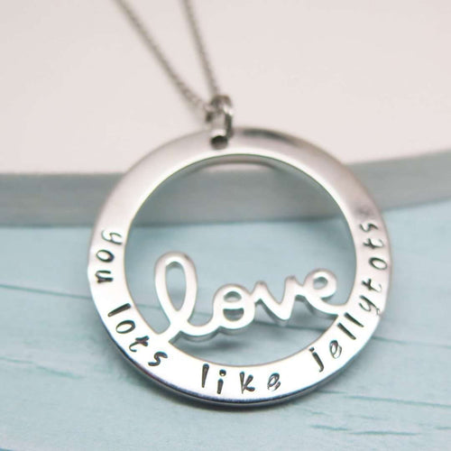 Personalised Love Necklace