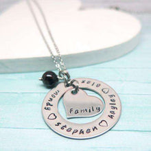 Personalised Mother of the Bride Necklace