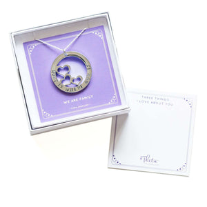 theta_jewellery_Necklace for Mum - 'Home is Where Mum is'