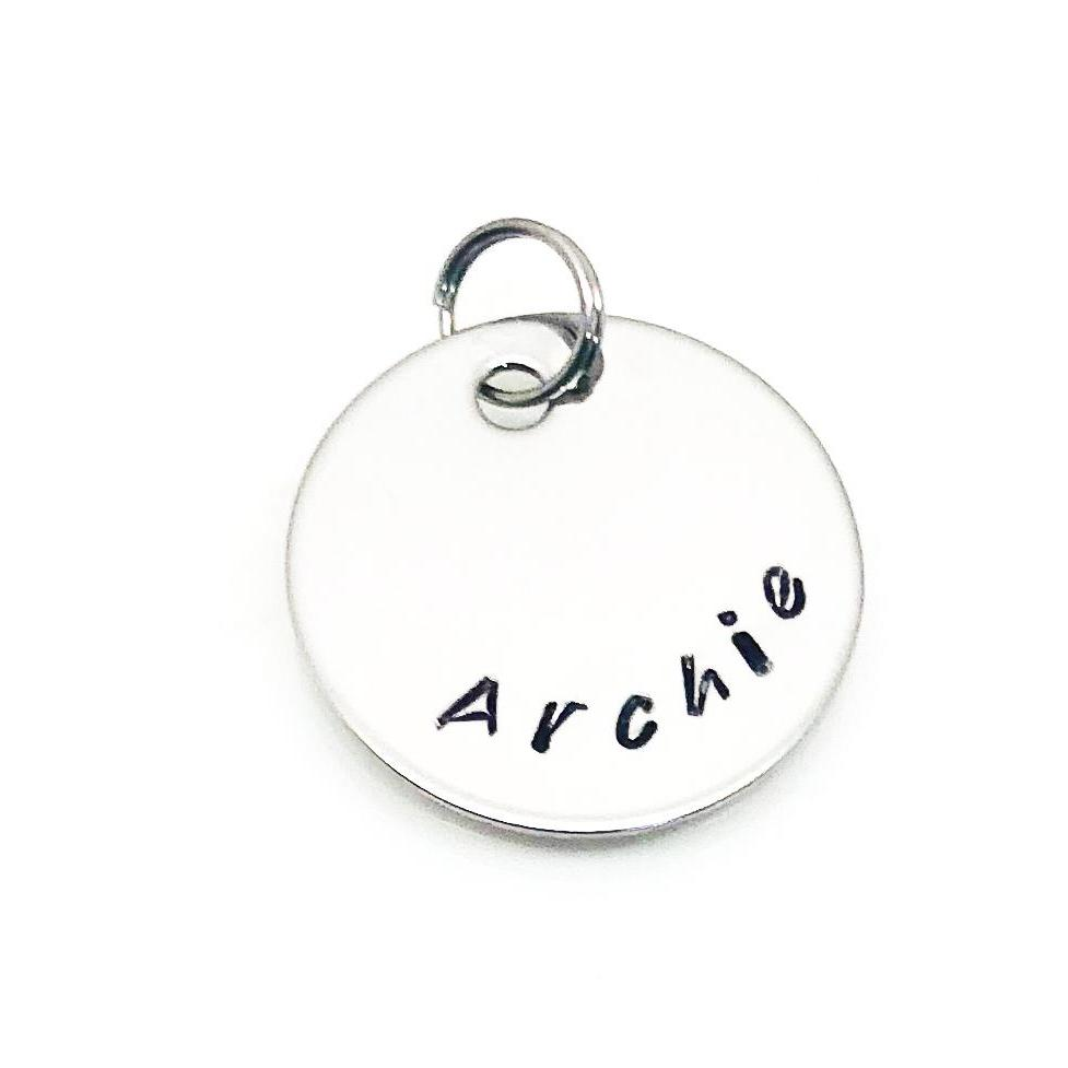 theta_jewellery_Personalised Circle Charm