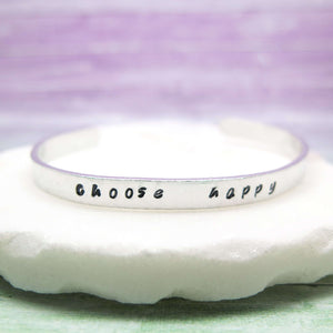 Personalised Cuff Bracelet