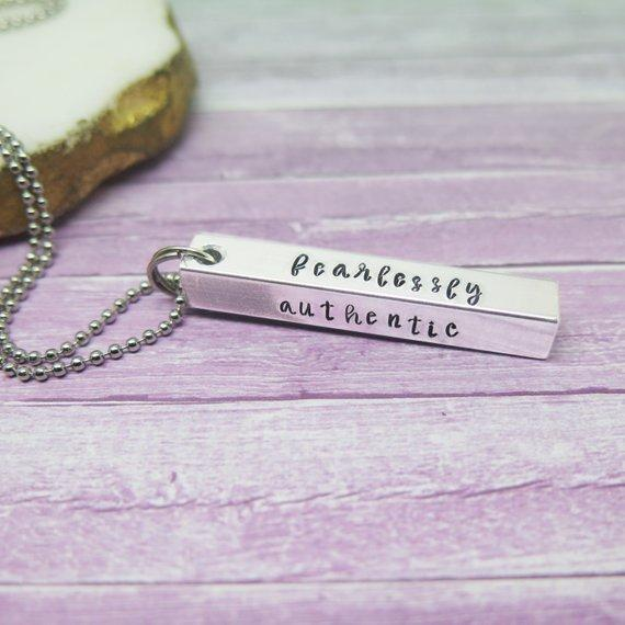 theta_jewellery_Personalised Dad Pendant - Gift from the Family