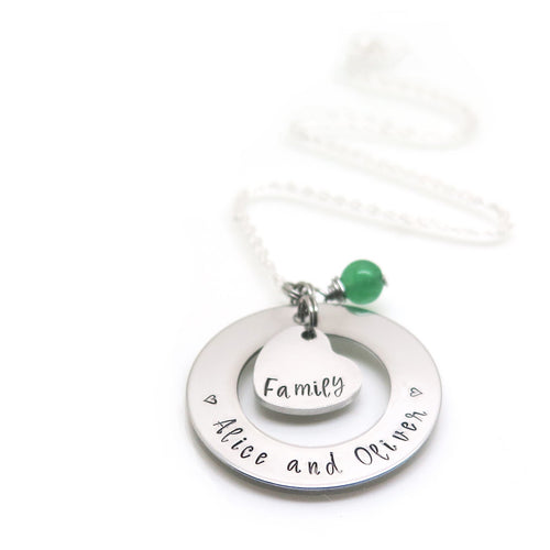 theta_jewellery_Personalised Family Necklace