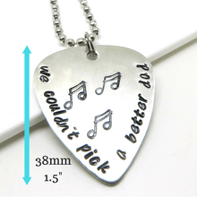 Guitar Pick with measurements