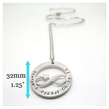 theta_jewellery_Personalised Infinity Necklace