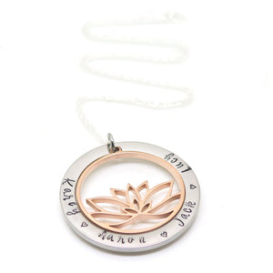 theta_jewellery_Personalised Lotus Necklace