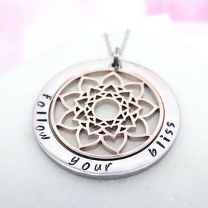 Personalised Mandala Necklace
