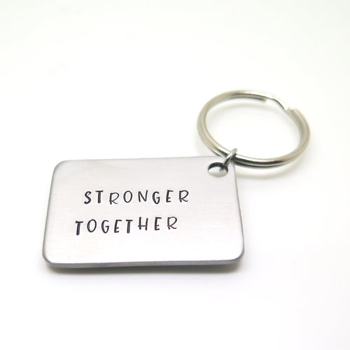 theta_jewellery_Personalised Mantra Keyring