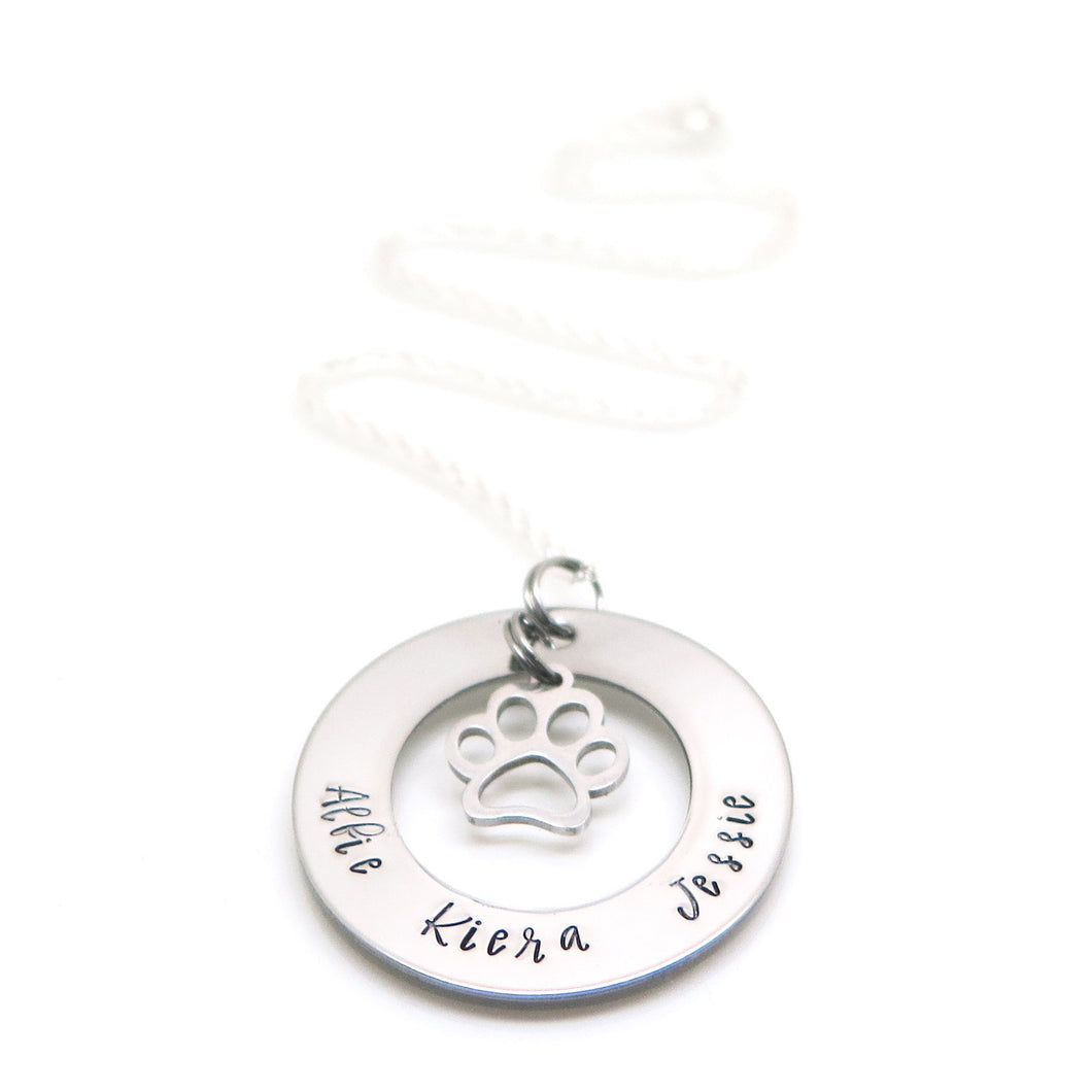 theta_jewellery_Personalised Paw Necklace