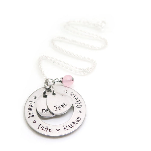 theta_jewellery_Personalised Two Heart Necklace