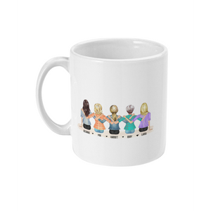theta_jewellery_Sitting Friends Personalised Coffee Mug