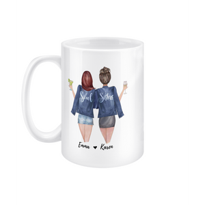 theta_jewellery_Soul Sisters Mug - Personalised Coffee Mug