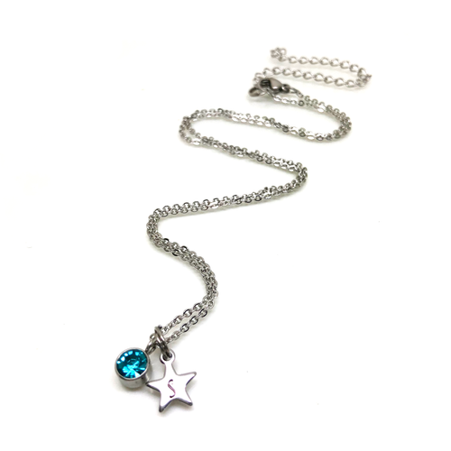 theta_jewellery_18th Birthday Star Necklace