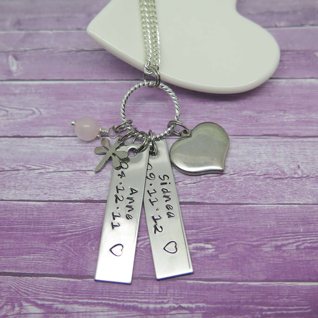 Personalised Tag Necklace for women