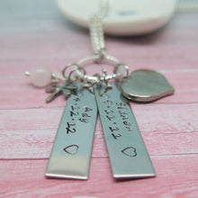 Hand Stamped Tag Necklace