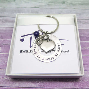 Teacher Keyring in a gift box