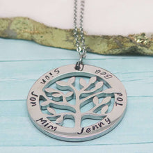 Personalised Tree of Life Necklace