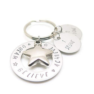 theta_jewellery_Weight Loss Keyring