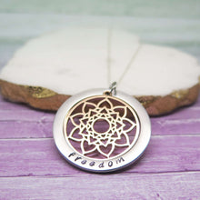 theta_jewellery_Wish Word Mandala Necklace