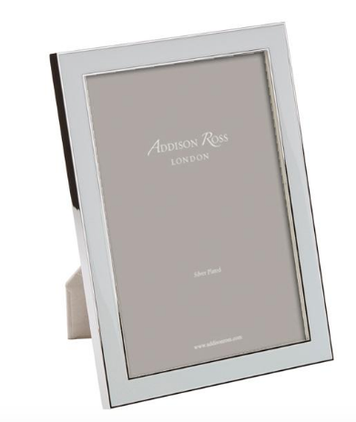 Addison Ross Light Blue Enamel Picture Frame