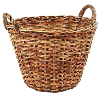 French Country Produce Rattan Basket
