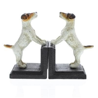 Jack Russell Bookends