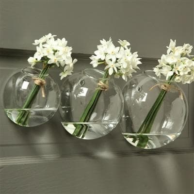 Wall Bubble Vases (Set of Two)