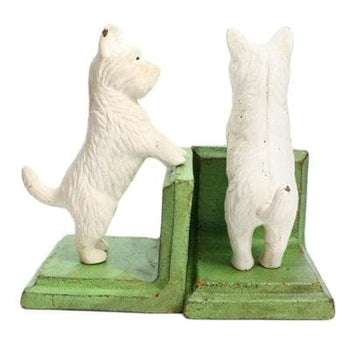 Standing Westie Bookends (S/2)