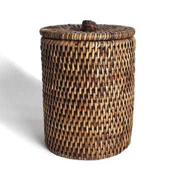 Rattan Large Bathroom Containers Set/2