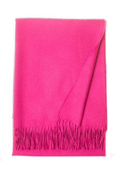 Paris Hot Pink Alpaca Throw