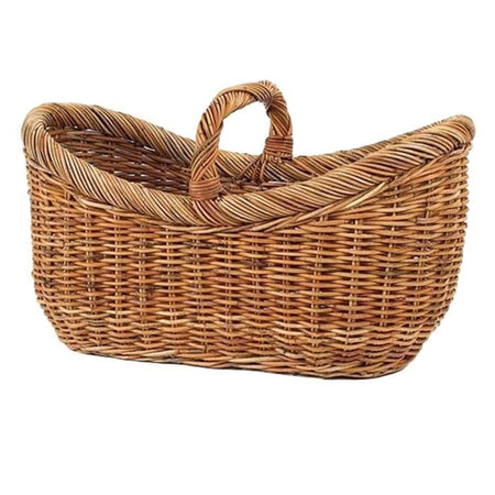 French Country Yarn Rattan Basket