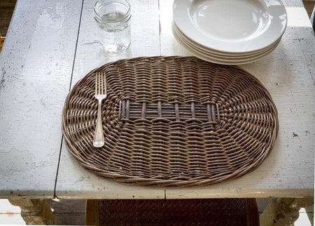 Willow Oval Placemats Set/4
