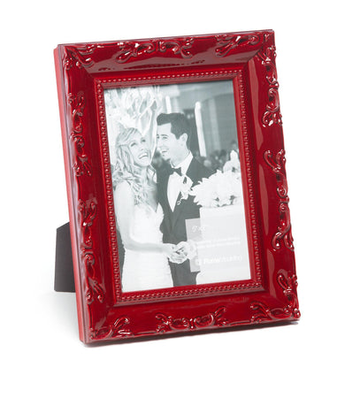 Lavo Electric Red Gloss Wood Picture Frame (5x7)