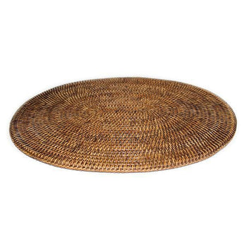 Rattan Oval Placemats (Set/2)