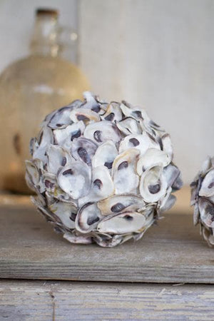Oyster Shell Spheres Set/2