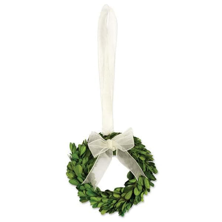 "Preserved Boxwood Small Wreaths 6.5"" (Set/4)"