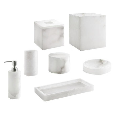 Alabaster Marble Bathroom Accessories