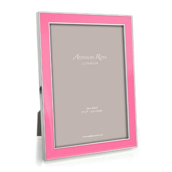 Addison Ross Pink Enamel Picture Frame