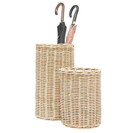 Malta Rattan Umbrella Stand (Light Natural) - Small