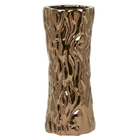 Rovigo Ceramic Umbrella Stand (Crackled Gold)