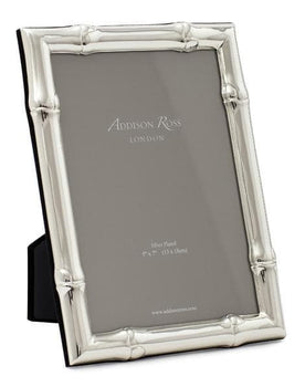 Addison Ross Wide Bamboo Silver Plated Frame
