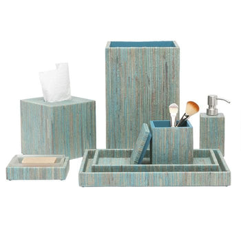Bali Aqua Bathroom Accessories